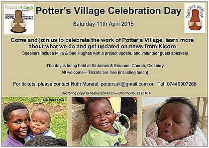 Potter's Village Celebration day