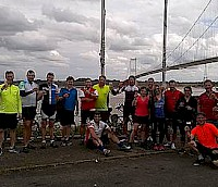 Fundraising bike ride success