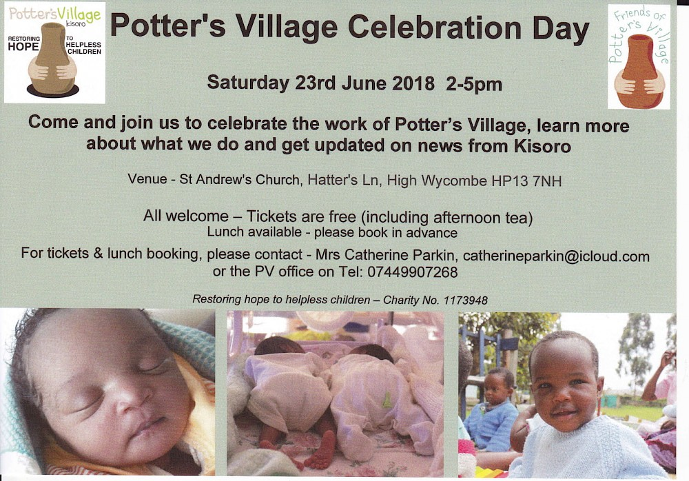 Potter's Village Celebration Day 2018